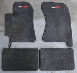 SUBARU Impreza GEN2 2000/07 OEM carpet floormats 4Pc set RS2.8 logos NICE DKgrey