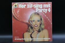 Various – Hör Zu - Sing Mit Party 4 (1975) (Vinyl) (1C 062-29 587) (Neu+OVP)