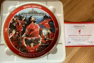 Steven Gerrard Commemorative Plate