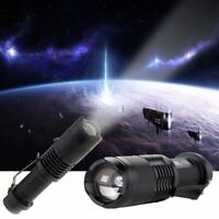Adjustable Focus Zoom Cree Xml-t6 Led 1200lm Waterproof Flashlight Torch 3-modes