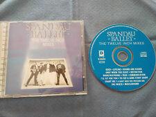SPANDAU BALLET THE TWELVE INCH MIXES CD 1986 2002 DISKY EU EDITION