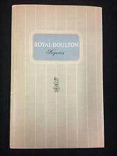 Vintage 1955 Royal Doulton Figures Collector'S Book No.4.