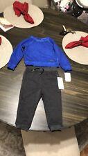 Hudson Kids Baby Boys Outfit Set Toddler Sweatpants & Sweatshirt  18M NWT