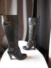 bottes DKNYC cuir noir pointure 39