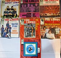 7 x Single Vinyl The Lords, German BEAT,60er Jahre,aus Wohnungsauflösung.