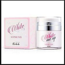 Kiss SKINCARE White Me Up Sleeping Pack Wake Up Wow Pretty Overnight 30ml