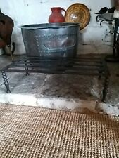 Large Wrought And Cast Iron Georgian Footman Trivet Period Fireplace