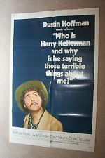 WHO IS HARRY KELLERMAN Orig 1-Sheet Movie Poster 1971 DUSTIN HOFFMAN DOM DELUISE