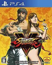 PS4 Street Fighter V 5 HOT PACKAGE Version Japanese ver PlayStation 4 F/S wTrack