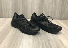 Nike Air Max Plus Men's Size 10 Triple Black Athletic Running Shoes 429889 2012