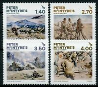 New Zealand NZ Military Stamps 2020 MNH Peter McIntyre's WWII WW2 Tanks 4v Set