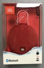 JBL Clip 3 Portable Bluetooth Speaker - Red - Sealed Retailed Packed