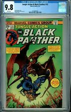 JUNGLE ACTION & BLACK PANTHER 15 CGC 9.8 WP KANE cover NEW CGC CASE MARVEL 1975