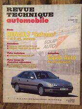 Revue Technique Automobile RENAULT Safrane 4 et 6 cyl. essence