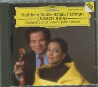 CD Kathleen Battle Itzhak Perlman Bach Arias (DGG) 1992