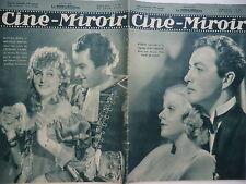 Ciné Miroir n°638- 1937 : L'Etudiant pauvre Trente cinq à l'ombre Troïka