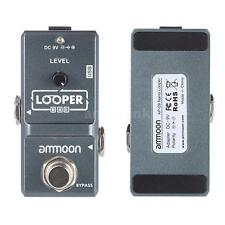 Loop Electric Guitar Effect Pedal Looper True Bypass Unlimited Overdubs O3X7