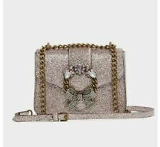 NWT Aldo Feronnel Pink Metallic Faux Leather Cross body bag