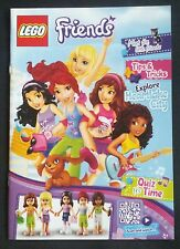 LEGO FRIENDS 2013 CATALOGUE BOOKLET CHARACTER MINIFIG PROFILE PRODUCT GUIDE BOOK