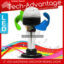 """12V 5"""" BOAT DUAL POSITION ANCHOR STERN MASTHEAD NAVIGATION ALL ROUND WHITE LIGHT"""