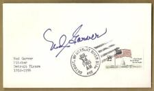 Ned Garver Autographed First Day Cover Envelope Auto