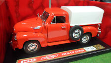 CHEVROLET Pick Up Baché 1953 rouge o 1/18 MIRA 6223 voiture miniature collection