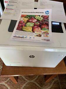 HP Color LaserJet Pro M452dn Color Laser Printer Used 48105 Count