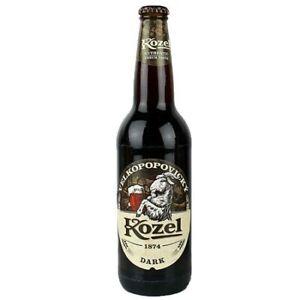 12 x 0,5L Kozel Dark Craftbeer Bier Trend Genuss Urban (12148)