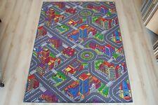 Straßenteppich Kinder Spielteppich Citylight 200x300 cm