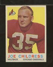 1959 Topps #13 JOE CHILDRESS Chicago Cardinals EXMT (DC18)