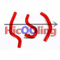RED Silicone radiator hose for HONDA CR80R CR85R 1996-2007 97 98 99 01 02 04 06