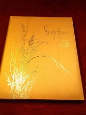 "OLD VTG 1970 POETRY BOOK ""SOMETHING TO DO (LOVE, HOPE FOR)"" BY CAESAR JOHNSON"