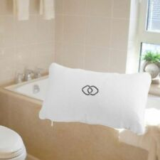 Anti-slip Head Rest Inflatable Mat Shower Cushion Suction Cups Bathtub Pillow