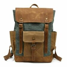 Vintage Casual Fashion Rucksack Canvas Large Capacity Bag School Style Backpack