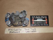 OEM 1975 75 Cadillac Fleetwood POWER ELECTRIC TRUNK LOCK LATCH
