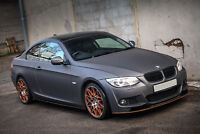 Splitter for BMW E92 E93 M Sport Front Bumper Performance spoiler Valance chin