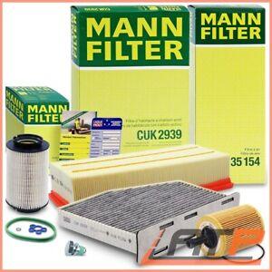AIR OIL CABIN INTERIOR MANN FILTER SERVICE KIT B SET STICKER TAG PLUG 31915107