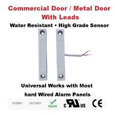 Surface Mount Door Contacts for Commercial or Metal Door Water Resistant Outdoor