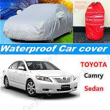 Waterproof Car Cover UV Rain Resistant for Toyota Camry Corolla Sedan Hatchback
