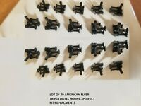 Lot of 20 AMERICAN FLYER DIESEL TRIPLE HORNs  REPRODUCTION PA11409...PERFECT FIT