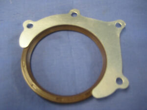 NEW MGB 1966 ONFIVE BEARING REAR MAIN OIL SEAL AND LOCK TAB LUF10002  D57/74