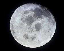 FULL MOON PHOTOGRAPHED FROM SPACE NASA APOLLO 11 11x14 PHOTO 1969