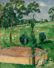 The Spring House by Paul Cézanne 60cm x 48cm Art Paper Print