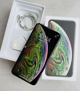 IPHONE XS MAX 256 SPACE GREY BOXED WITH ACCESSORIES IN SUPERB CONDITION UNLOCKED