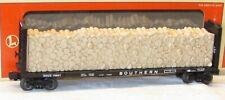 Lionel 6-16951 9823 Southern Bulkhead Flatcar w/ Simulated Wood Load O Gauge