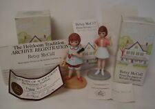 2 Betsy McCall Figurines 1984 Boxes - all papers