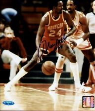 "MOSES MALONE DECEASED  ""HOUSTON ROCKETS"" AUTOGRAPHED 8X10 PHOTOGRAPH~TRISTAR COA"