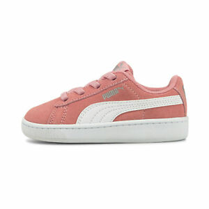 PUMA Toddler Girls' Vikky v2 Suede Sneakers