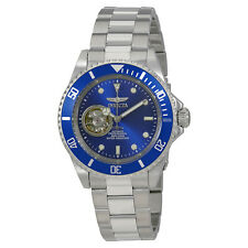 Invicta Pro Diver Automatic Blue Dial Stainless Steel Mens Watch 20434