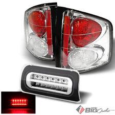 For 94-04 S10/Sonoma, 96-00 Hombre Tail Lights + Full LED 3rd Brake Light Combo